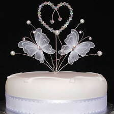 Butterfly Cake Topper, Wedding Birthday Anniversary Cake Decoration