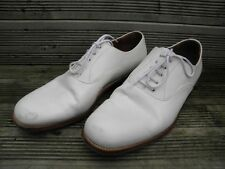 NEW MOD Royal Navy Officer sailor PO RN CPO White uniform deck Leather Shoes
