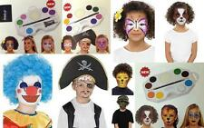 Smiffys FX Make Up Set Face & Body Paint Painting Kit Childrens Party Gift Set