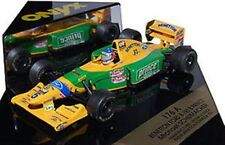 ONYX Benetton Formula 1 diecast model racing cars Michael Schumacher 1:43rd F1