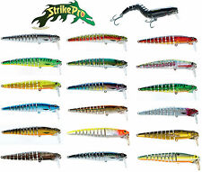 "STRIKE PRO FLEX X 105 SWIMBAIT/JERKBAIT 4 1/4"" (10.5 CM) various colors"