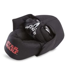 STAR WARS DARTH VADER SLIPPERS WITH NON SLIP BOTTOMS BOYS SIZES NWT!
