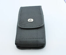 Velcro Heavy Duty Holder Pouch Case with Metal Clip Belt Loops for Cellphones