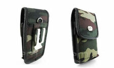 Camo Rugged Heavy Duty Holder Clip Belt Case Pouch for Cell Phones Smartphones