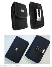 Vertical + Horizontal Rugged Case Cover Purse Clip for Verizon Wireless Phones
