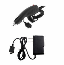 Home Wall + Car Kit Adapter for Pantech Matrix Pro Pursuit Reveal Slate CDM8635