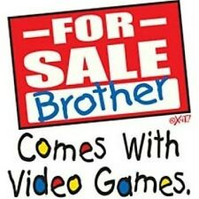 Kids Youth Shirt For Sale Brother Comes With Video Games Family Parents Sister