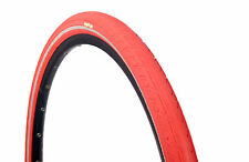 1 OF COLOURED 700 X 38 TYRE TIRE RED W/ REFLECTOR PUNCTURE PROT. 29 x 1.50