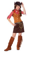 Gun Slinger Cowgirl Child Halloween Costume
