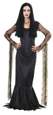 ADDAMS FAMILY MORTICIA ADDAMS ADULT WOMENS COSTUME Theme Horror Halloween Party