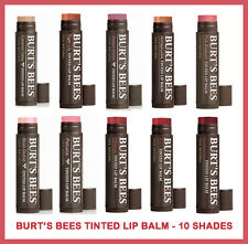 BURT'S BURTS BEES -TINTED LIP BALM - TINT Gloss NEW 100% NATURAL - Great Gift
