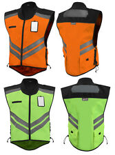 Motorcycle Vest, Hi visibility, Meets military requirements free size changes