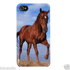 Horses pony IP5 i phone 5 5s white hard back case skins cover for i phone 5 5s
