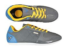 NEW MENS VOI JEANS BRANDED MURANO GREY SHINY TRAINERS FOOTWEAR ALL SIZES 6-11