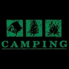 Camping Hoodie Woods Nature Tent Fire Camper Wilderness Resort Hiking Boots