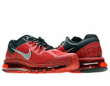 Nike Air Max+ 2013 Gym Red/Silver Mens Running Shoes 554886-602