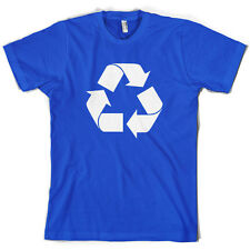 Recycling Symbol - Mens T-Shirt - 10 Colours - Recycle - Gift - Clothing