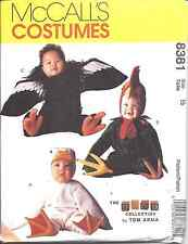 8381 UNCUT McCalls SEWING Pattern Tom Arma Halloween Costume Duck Rooster Condor