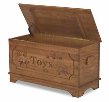 Amish Toy Box Storage Chest Blanket Box Trunk Wooden Wood Bedroom Clothes