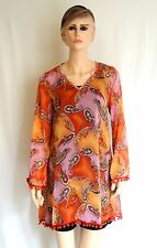 New Women's Orange-Pink SUN DRESSES In Sizes S- M FREE SHIPPING (ON SALE NOW!)