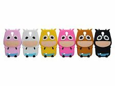New 3D Cute Cow Soft Silicone  Case Cover Skin for Samsung Galaxy S4 S IV i9500