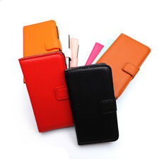 Flip Leather Wallet Case Cover for Sony Ericsson Xperia ARC S LT15i LT18i X12 IN