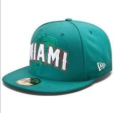 Miami Dolphins NFL Draft Night Hats New Era 59 Fifty Fitted Hat Authentic