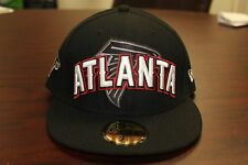 Atlanta Falcons NFL Draft Night Hats New Era 59 Fifty Fitted Hat Authentic