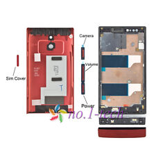 Replacement Full housing cover Repair part For Sony Xperia P LT22i Nyphon New