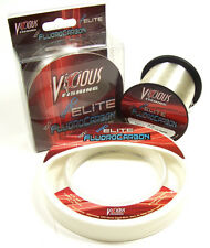 VICIOUS PRO ELITE FLUOROCARBON FISHING LINE 200 YARDS select lb test