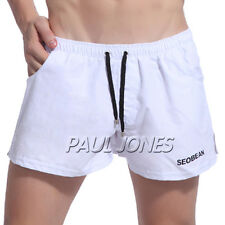 Home Causal Polyester Sexy Men's Splice Loose Underwear Shorts IN S~XL Shorts
