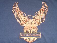 VTG DAYTONA BEACH MOTORCYCLES BIKE WEEK '90 Kids T-shirt UNWORN HD not 70s 80s