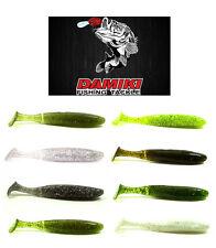 "DAMIKI BUZZING SHAD SWIMBAIT 4""  6 PACK various colors"