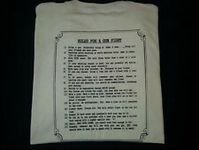 Rules for a Gun Fight Shirt TShirt - Lucky Dog 157 Military Conservative Law