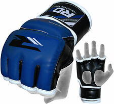 Authentic RDX MMA UFC Grappling Gloves Fight Boxing Punch Bag Kick Muay Thai TKD