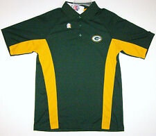 NFL Green Bay Packers Field Classic Sideline Green Performance Golf Polo Shirt