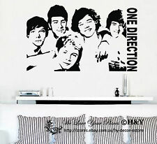 One Direction 1D Removable Wall Stickers Wall Decals Wall Decor Art Mural Small