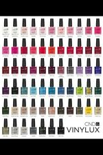 CND VINYLUX Weekly Nail Polish Lacquer 12 colors Top Coat 15 mL(.5 floz) part 1