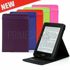 SMART LEATHER CASE COVER WITH FLIP STAND FOR NEW AMAZON KINDLE PAPERWHITE 2