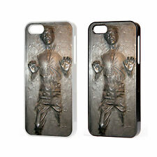 IPHONE 4/4S AND 5 STAR WARS HAN SOLO CARBONITE - HARD CASE COVER