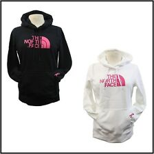 The North Face Women's PR Pink Ribbon Half Dome Hoodie Black/White