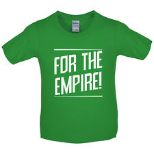 For The Empire - Kids / Childrens T-Shirt - Roman - Funny - 8 Colours