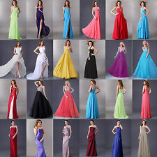 Hot Long Party Bridesmaid Formal Evening Dress Bridal Prom Homecoming Ball Gowns