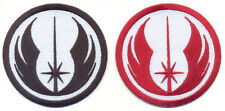 Jedi Order, Jedi Knight,  Embroidered Iron on Patches, Star Wars, Film Badges