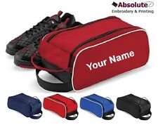 Personalised Football Boot Shoe Bag / Your Name / Team