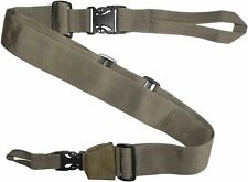 IDF Three 3-Point Quick Release Adjustable Tactical Gun Strap Rifle Sling Tan