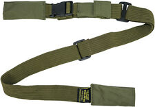 IDF Extended 669 Two 2-Point Adjustable Gun Strap Rifle Sling Metal Hooks Green