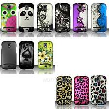 Samsung Galaxy S Relay 4G T699 Snap On Case Rubberized Hard Image Cover ZY