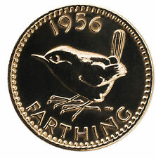 HIGHLY POLISHED FARTHING BIRTHDAY COIN CHOOSE YOUR YEAR 1937 TO 1956