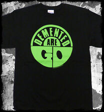 Demented Are Go - Logo Green t-shirt - Official - FAST SHIP